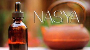 nasya, nasal therapy, nasal drops