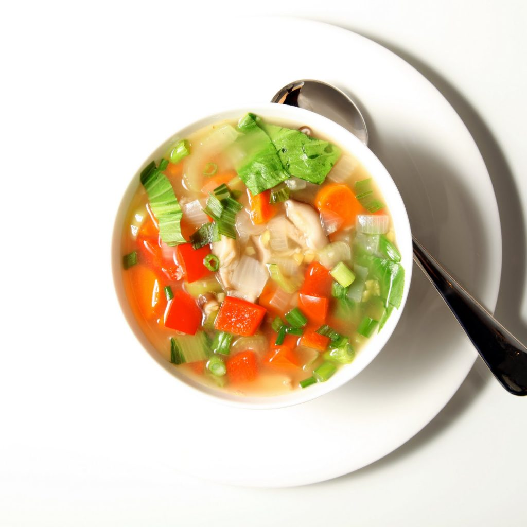 A Simple Ayurvedic Vegetable Soup