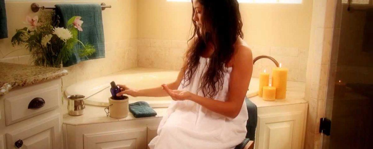 self-massage abhyanga